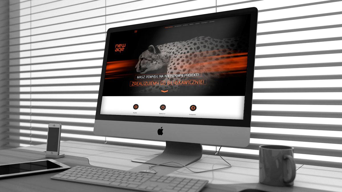 New Age – strona www